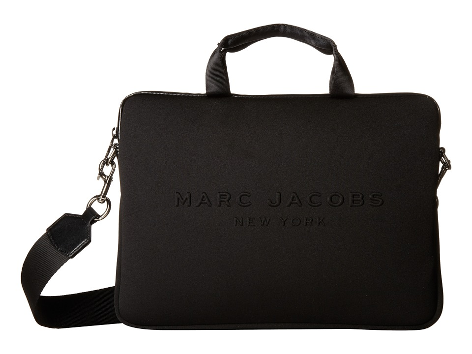 Marc Jacobs - Neoprene Tech 13 Commuter Case (Black) Computer Bags