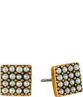 Marc Jacobs - Pearl Square Studs Earrings