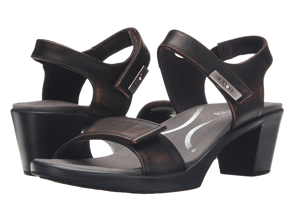Naot Footwear - Intact (Volcanic Brown Leather) Women