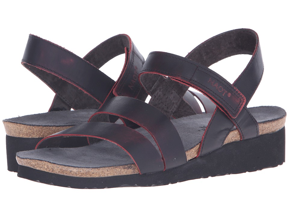 Naot Footwear Kayla (Volcanic Red Leather) Women