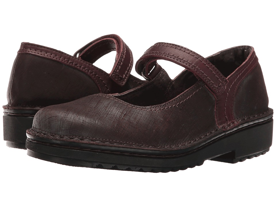Naot Footwear Hilda (Mine Brown Leather/Shiraz Leather) Women