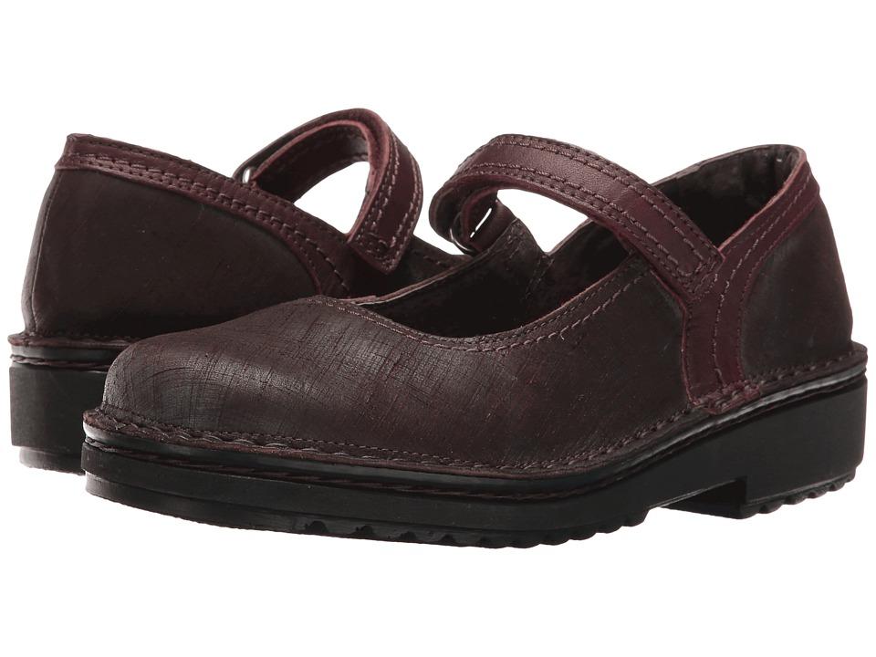 Naot Footwear Hilda (Mine Brown Leather/Shiraz Leather) Women