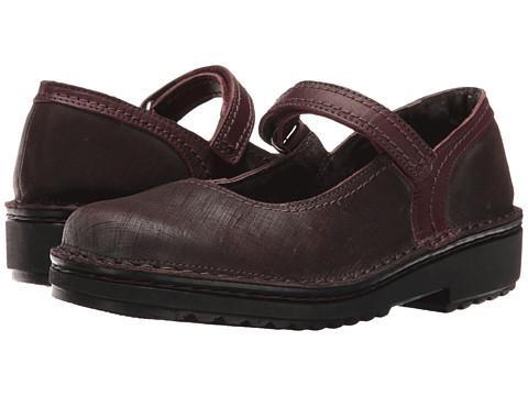 Naot Footwear Hilda - Mine Brown Leather/Shiraz Leather