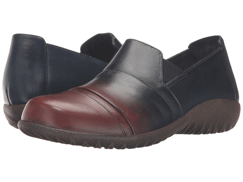 Naot Footwear Miro (Ink/Brown Leather) Women