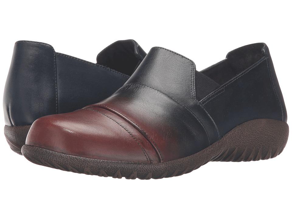 Naot Footwear - Miro (Ink/Brown Leather) Women
