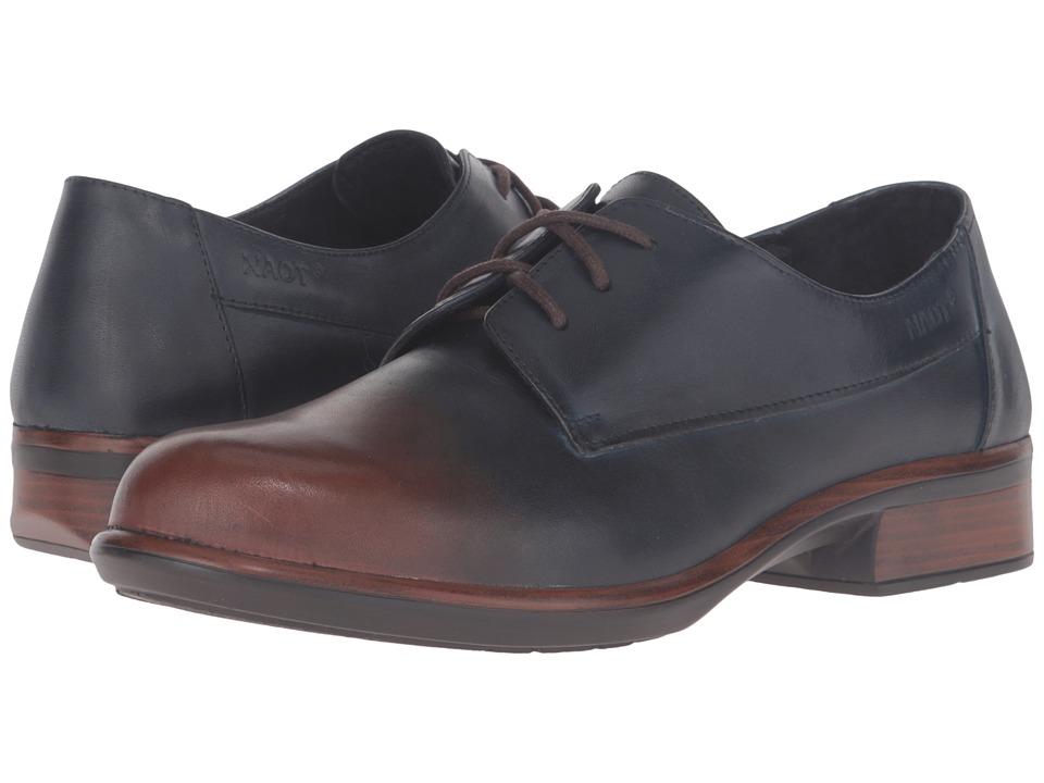 Naot Footwear - Kedma (Ink/Brown Leather) Women