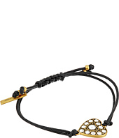 Marc Jacobs - Crystal Heart Friendship Bracelet