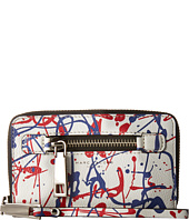 Marc Jacobs - Splatter Paint Zip Phone Wristlet