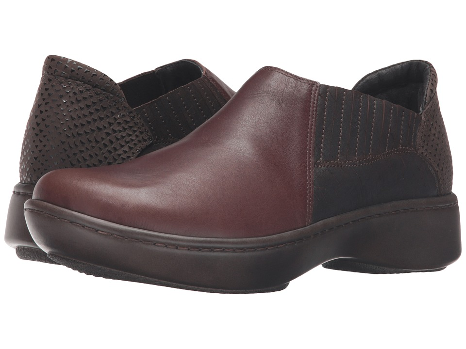 Naot Footwear - Bay (Toffee Brown Leather/Mine Brown Leather/Brown Croc Leather) Women