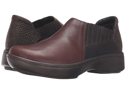 Naot Footwear Bay - Toffee Brown Leather/Mine Brown Leather/Brown Croc Leather