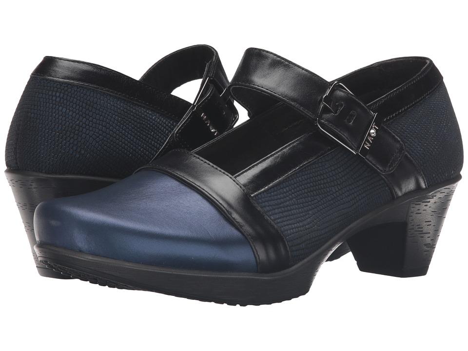 Naot Footwear - Dashing (Polar Sea Leather/Teal Nubuck/Carob Brown Leather) Women