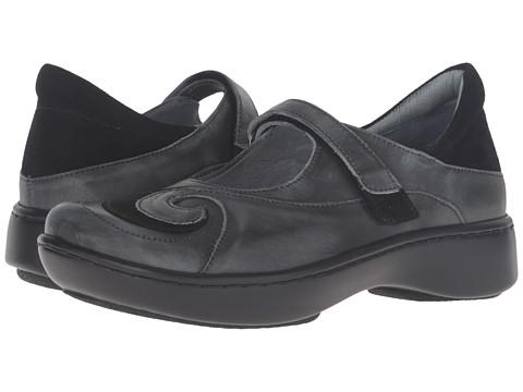 Naot Footwear Sea - Vintage Smoke Leather/Black Suede/Vintage Smoke Leather