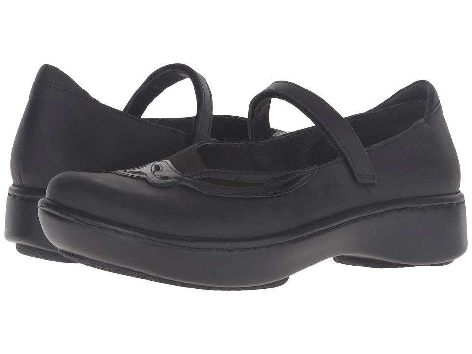 Naot Footwear - Bluegill (Oily Coal Nubuck/Black Velvet Nubuck/Black Madras Leather) Women