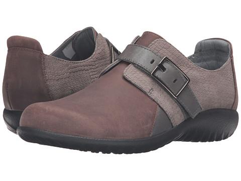 Naot Footwear Tane - Brown Haze Leather/Gray Iguana Nubuck/Shadow Gray Nubuck