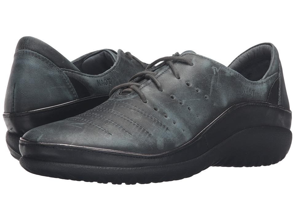 Naot Footwear Kumara (Vintage Smoke Leather/Black Raven Leather) Women's Shoes