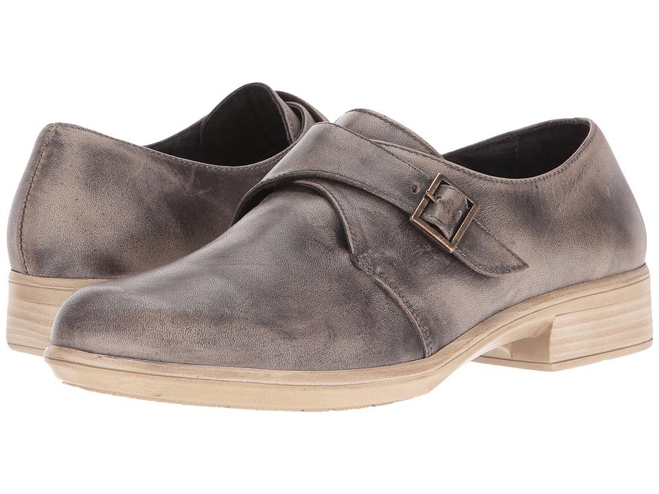 Naot Borasco (Vintage Gray Leather) Women