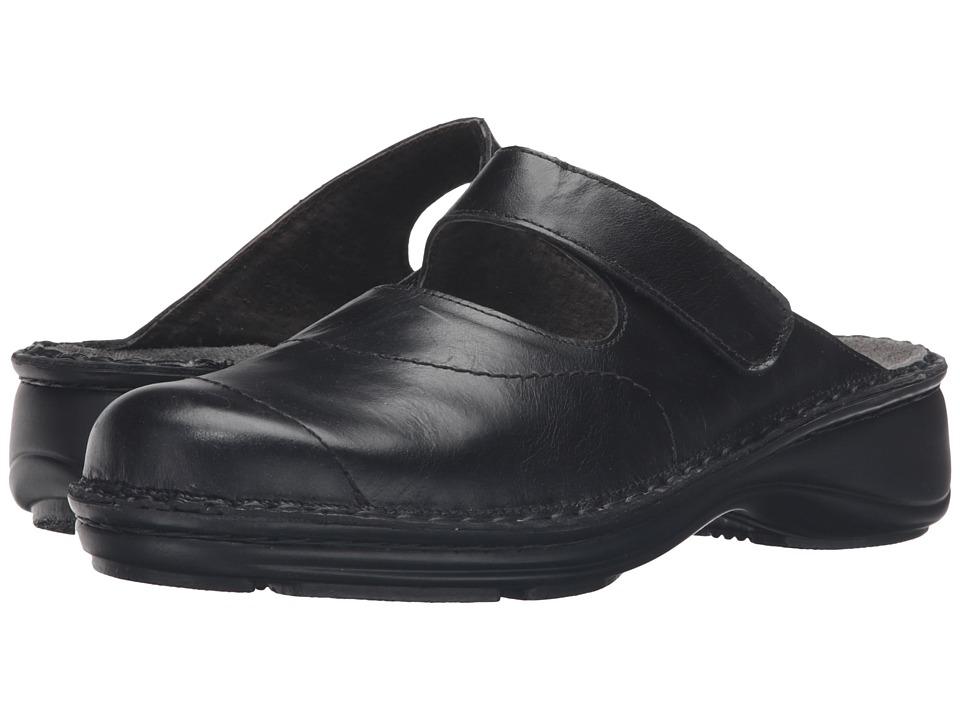 Naot Footwear - Hibiscus (Black Madras Leather) Women