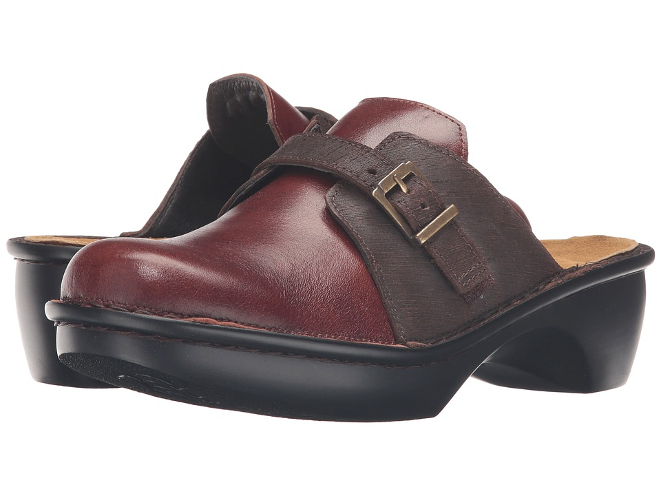 Naot Footwear Avignon (Luggage Brown Leather/Mine Brown Leather) Women