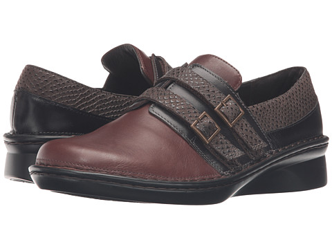Naot Footwear Celesta - Toffee Brown Leather/French Roast Leather/Brown Croc Leather/Bla