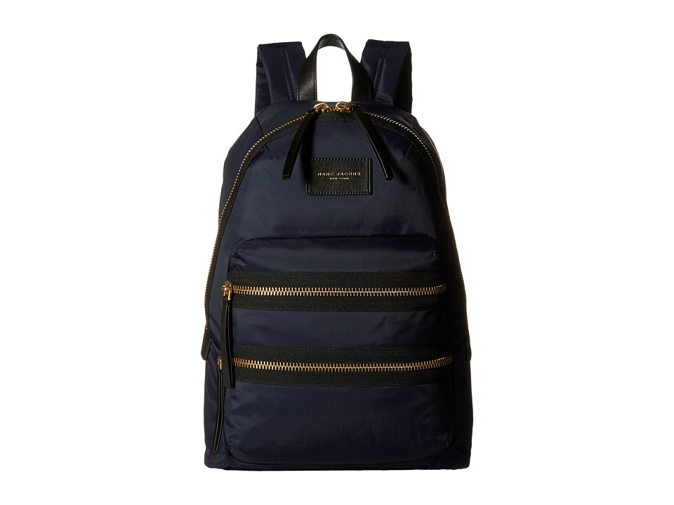 Marc Jacobs Nylon Biker Backpack Midnight Blue Backpack Bags