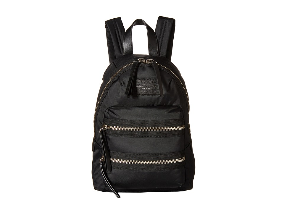 Marc Jacobs Nylon Biker Mini Backpack Black Backpack Bags