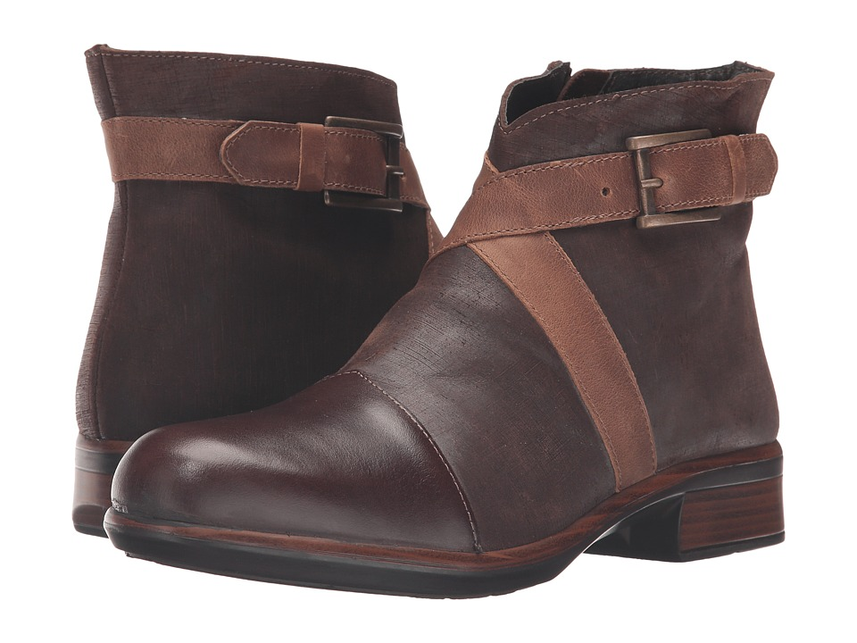 Naot Footwear Boreas (Walnut Leather/Mine Brown Leather/Saddle Brown Leather) Women