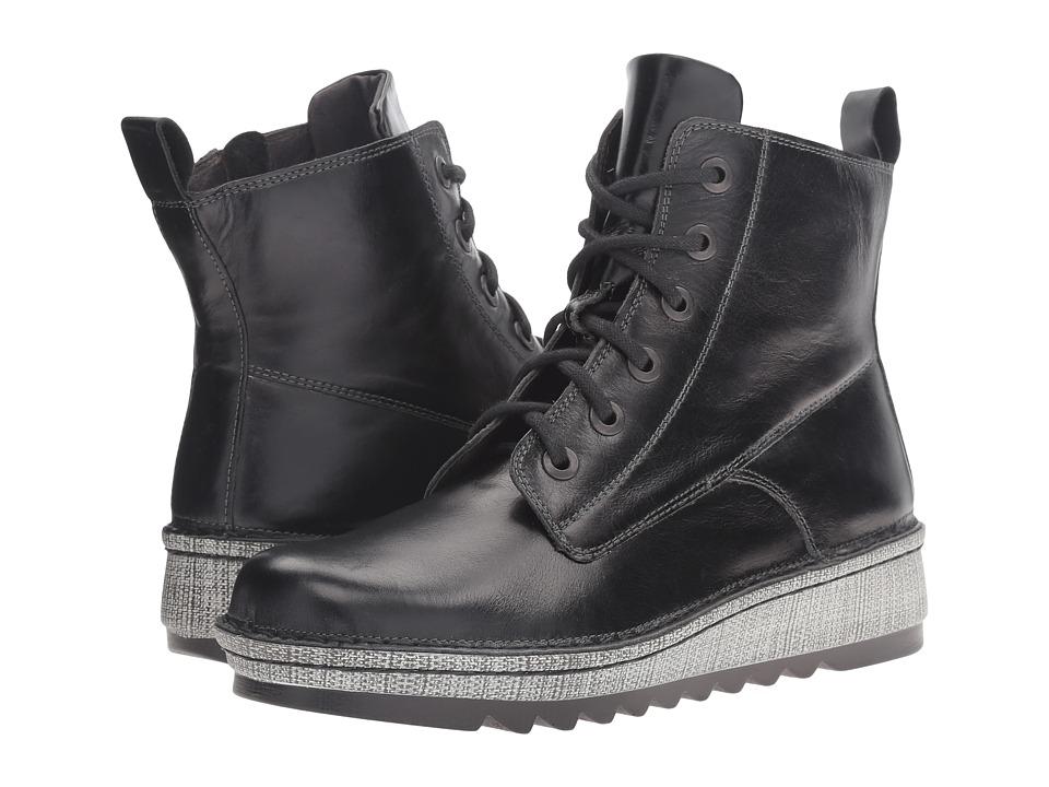 Naot Footwear Gazania (Black Madras Leather) Women