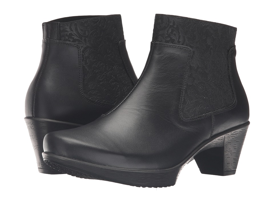 Naot Footwear Stunning (Black Raven Leather) Women