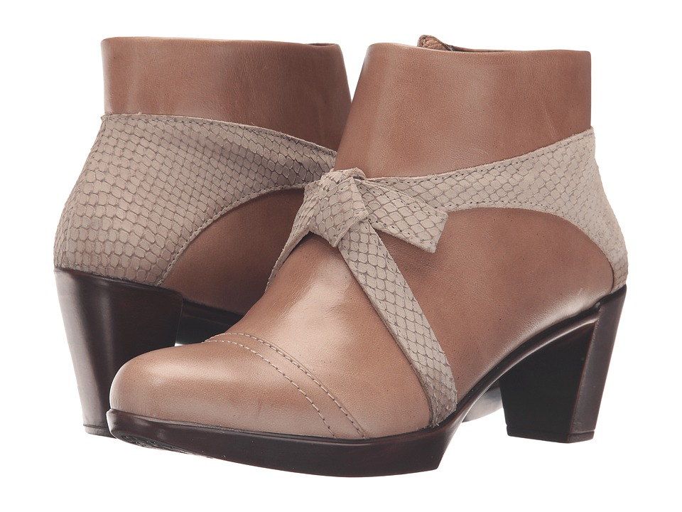 Naot Footwear Vistoso (Arizona Tan Leather/Beige Iguana Nubuck) Women