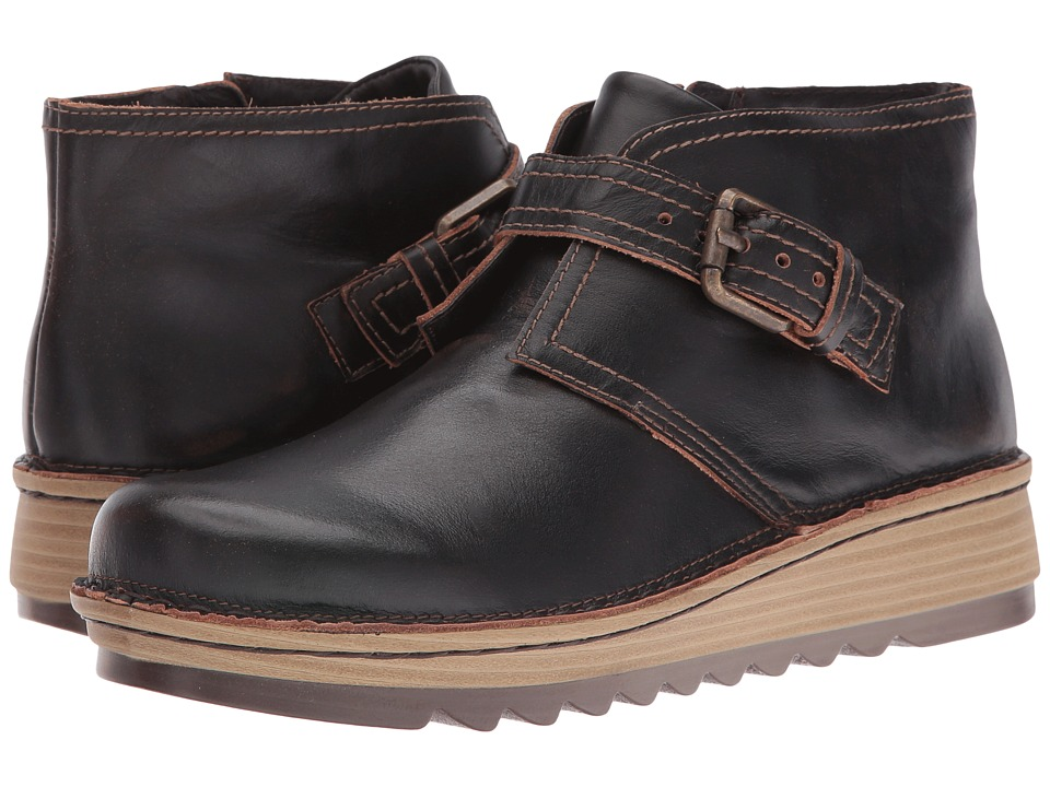 Naot Footwear Luisia (Volcanic Brown Leather) Women