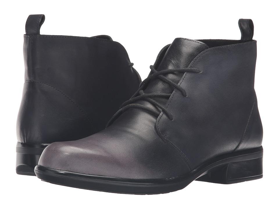 Naot Footwear Levanto (Gray/Black Leather) Women