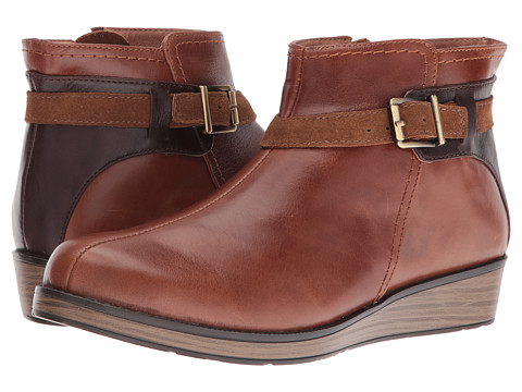 Naot Footwear Cozy - Maple Brown Leather/Walnut Leather/Desert Suede