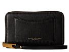 Image of Marc Jacobs - Recruit Zip Phone Wristlet (Black) Wristlet Handbags
