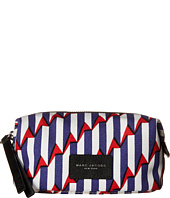 Marc Jacobs - Arrow Head Printed Biker Cosmetics Landscape Pouch