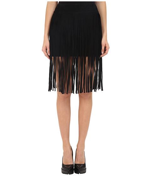 McQ Fringe Mini Skirt