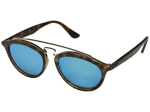 Ray-Ban RB4257 53mm - Matte Havana Frame/Mirror Blue Lens