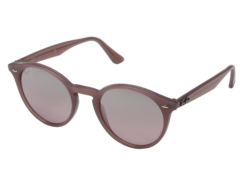 Ray Ban RB2180 51mm Opal Antique Pink Frame/Pink Mirror Silver Gradient Lens Fashion Sunglasses