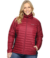 Columbia - Plus Size Powder Pillow Hybrid Jacket