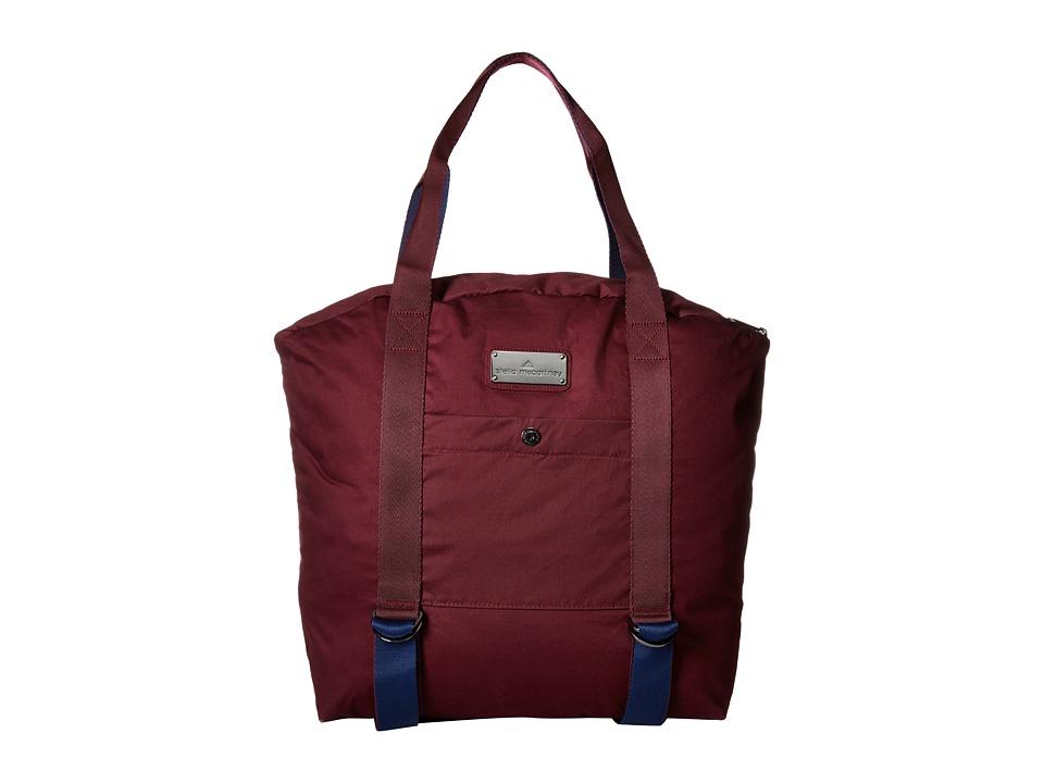 adidas by Stella McCartney - Yoga Bag (Maroon/Dark Blue/Vista Grey S15) Bags