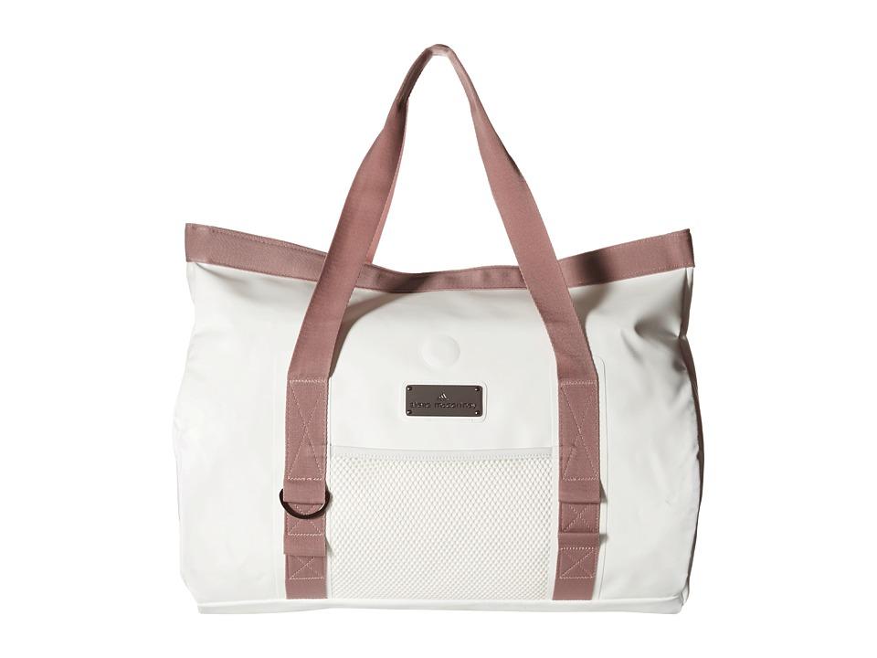 adidas by Stella McCartney - Swim Tote (White/Yellow Zest S13) Tote Handbags