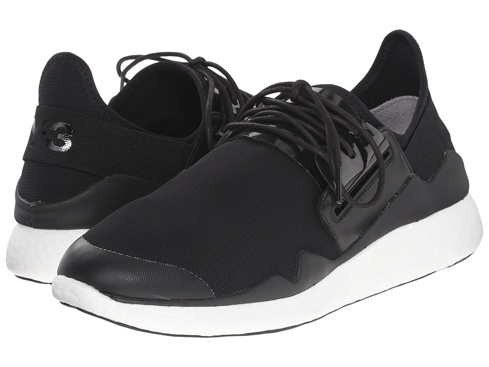 adidas Y 3 by Yohji Yamamoto Chimu Boost Core Black/Core Black/White Womens Lace up casual Shoes
