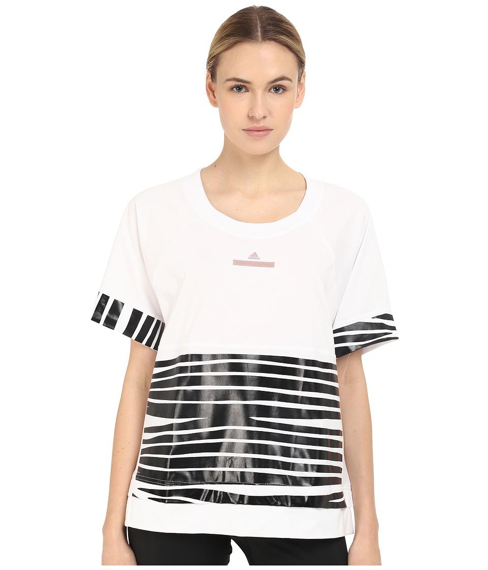 adidas by Stella McCartney - Essentials Zebra Tee AI8910 (White) Women