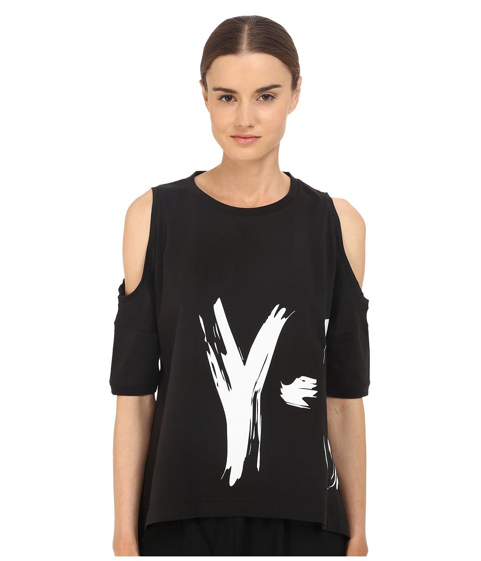 adidas Y-3 by Yohji Yamamoto Graphic Tee (Black) Women