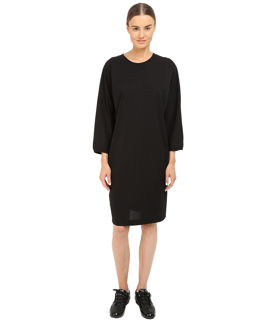 adidas Y 3 by Yohji Yamamoto Lux Track Dress Black Womens Dress