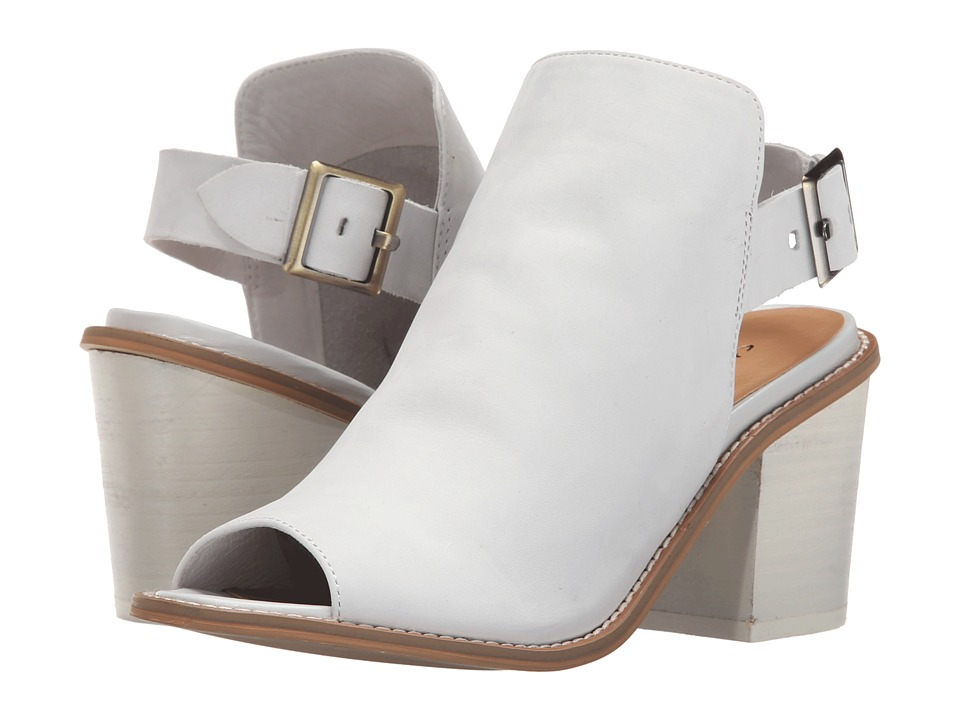 Chinese Laundry Caleb (White Leather) High Heels