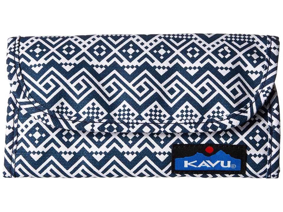 KAVU - Big Spender (Navy Quilt) Wallet Handbags