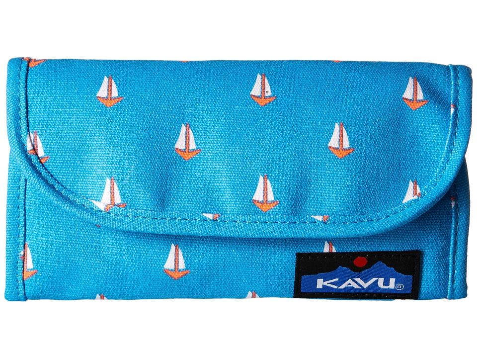 KAVU - Big Spender (Sail Boats) Wallet Handbags