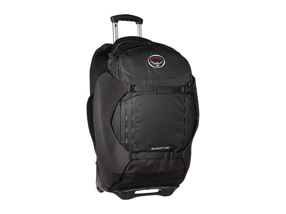 Osprey - Sojourn 25/60L Pack (Flash Black) Backpack Bags
