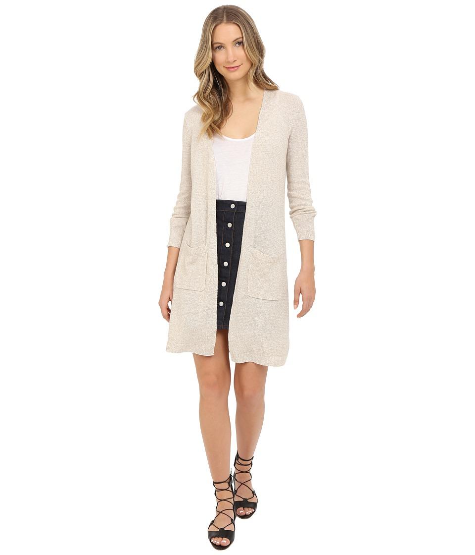Theory Torina Linencash Jacket Flax Womens Sweater
