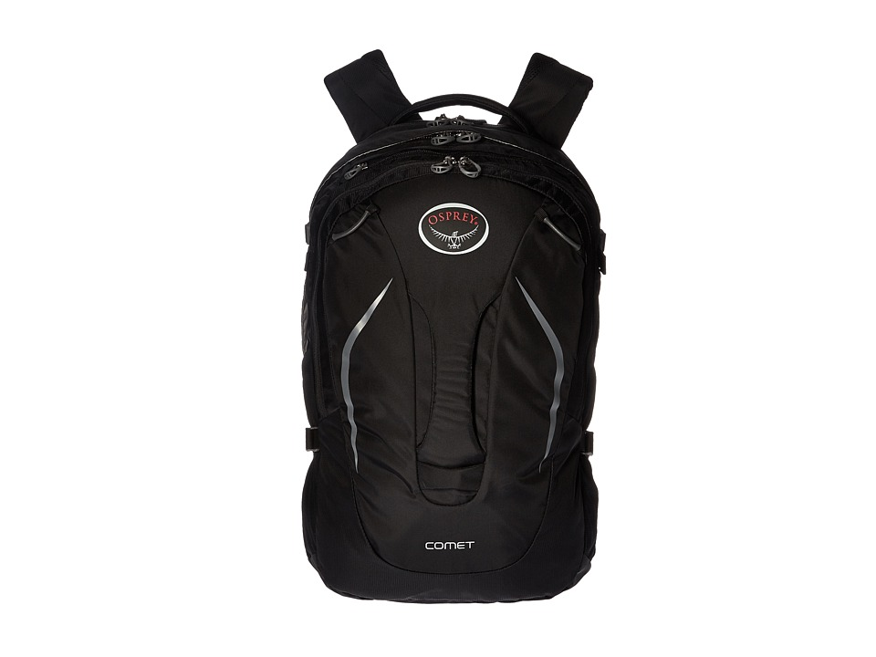 Osprey - Comet (Black) Backpack Bags